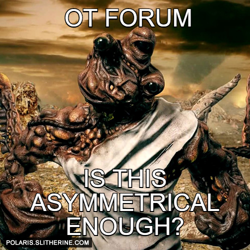 OT forum Is this asymmetrical enough?