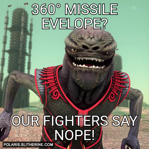 360° missile evelope? Our fighters say nope!