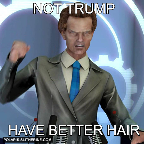 Not Trump have better Hair
